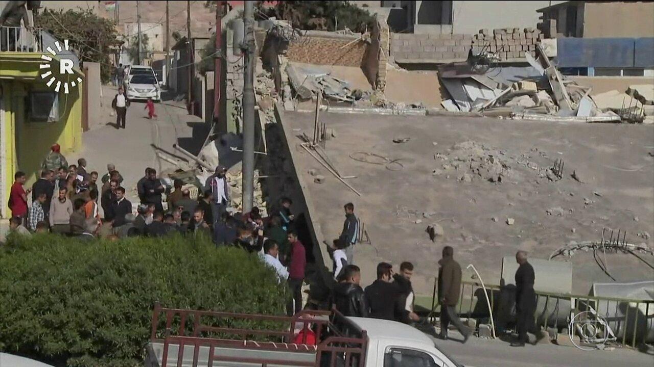 Terremoto na fronteira entre Irã e Iraque mata mais de 300 e fere 2,5 mil