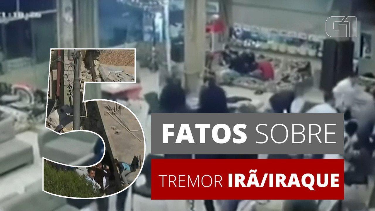 5 fatos sobre: terremoto na fronteira entre Irã e Iraque deixa mais de 300 mortos