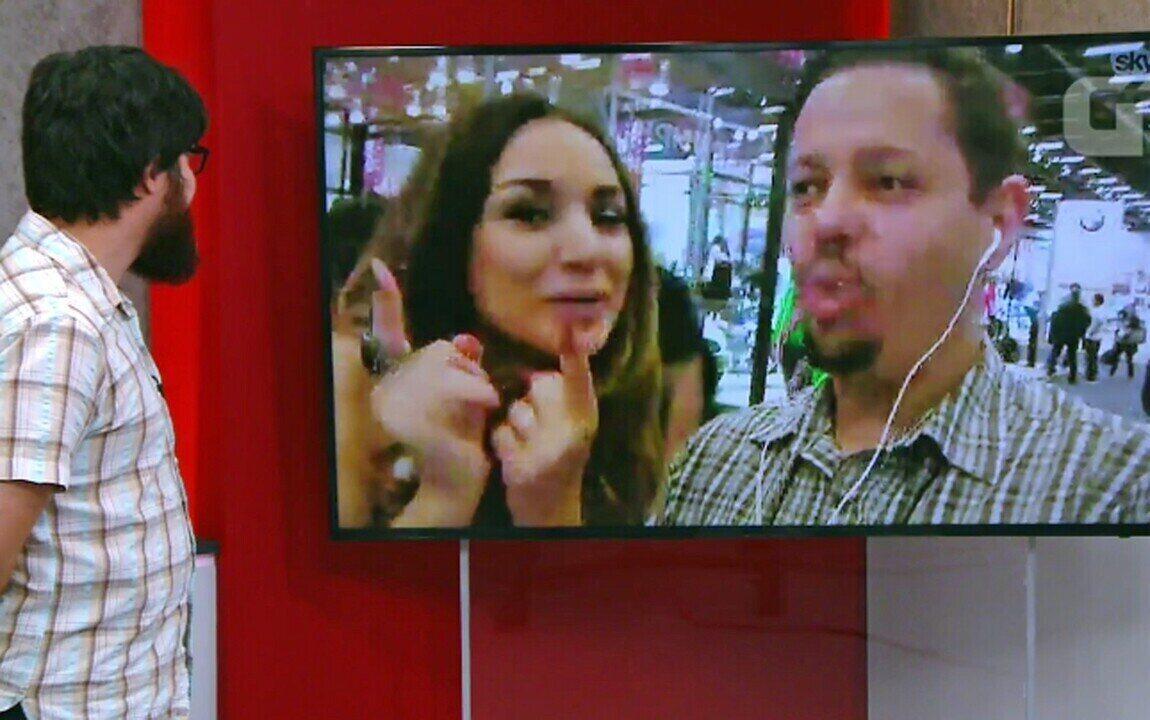 G1 e Millena Machado mostram novidades do Salão Duas Rodas 2017
