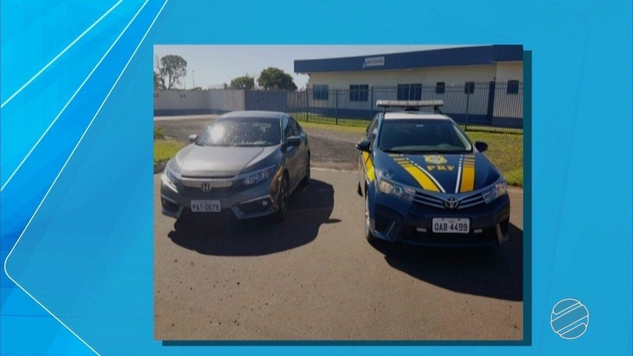 Polícia prende em rodovia de MS dois suspeitos de aplicarem golpe do seguro