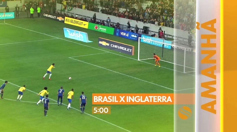 Amistoso da Seleção Brasileira altera grade de programação da TV Sergipe nesta terça, 14