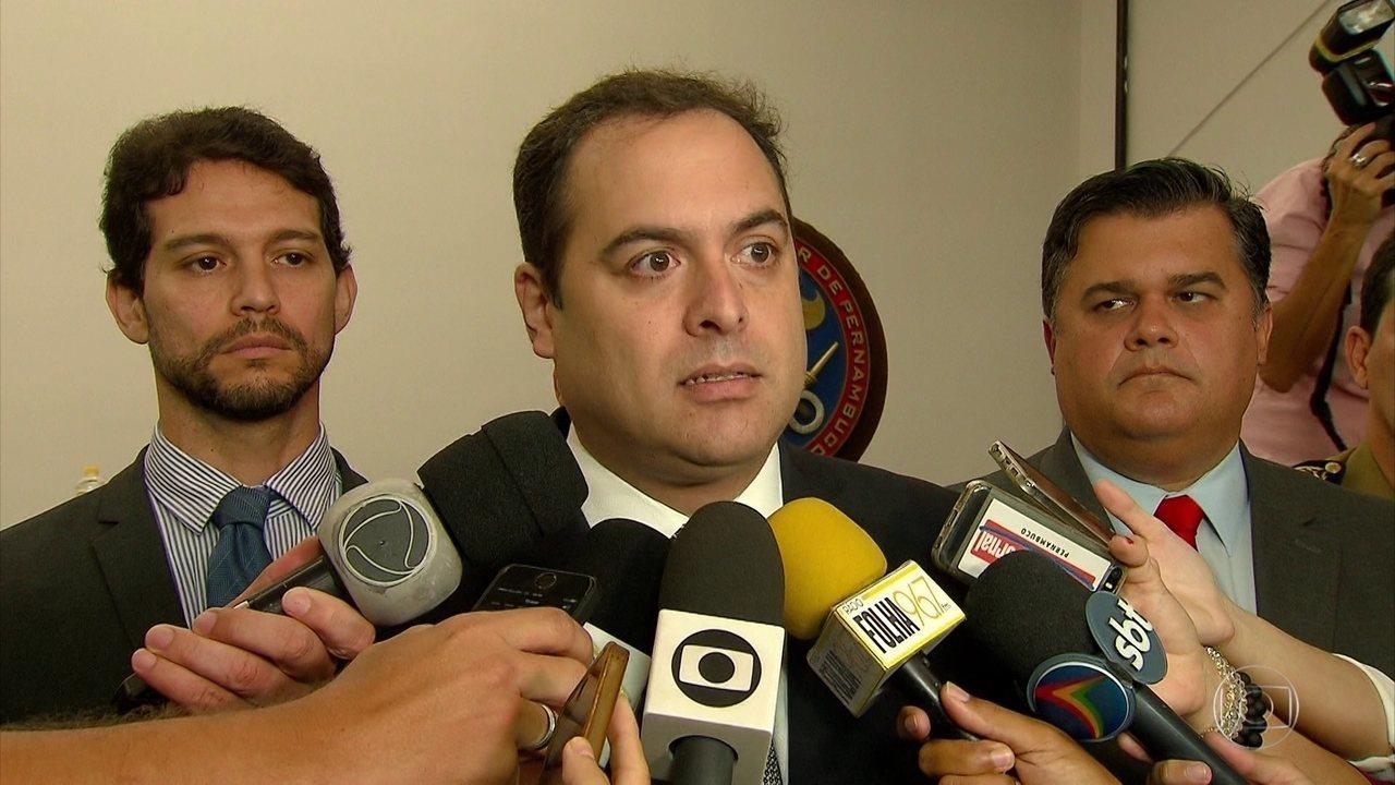 Governador se pronuncia sobre denúncia de desvio de dinheiro por coronéis da Casa Militar
