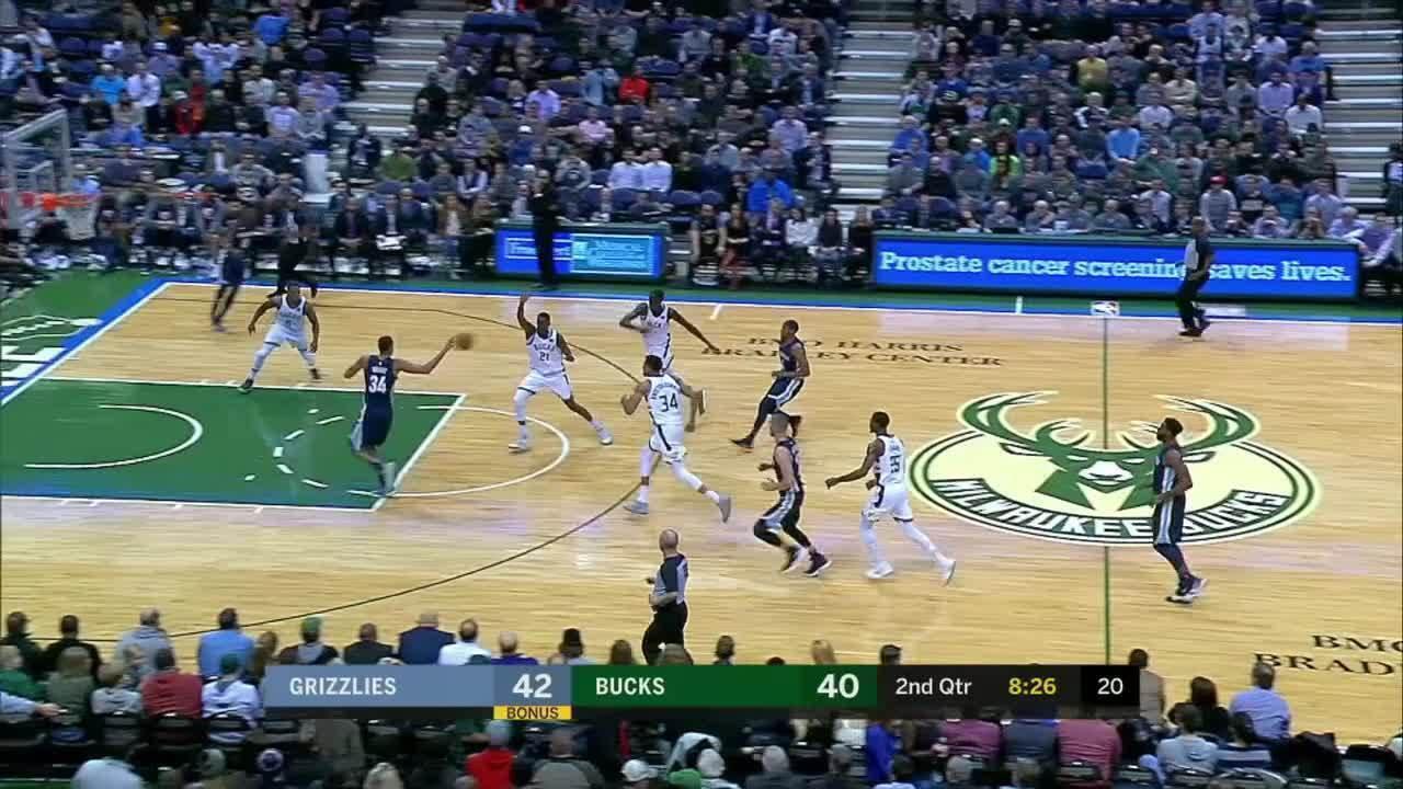 Melhores momentos: Memphis Grizzlies 103 x 110 Milwaukee Bucks pela NBA