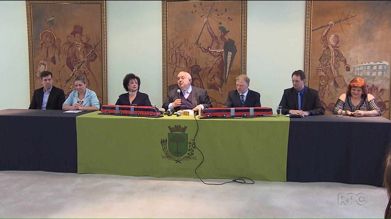 Prefeitura de Curitiba anuncia renovação da frota de ônibus
