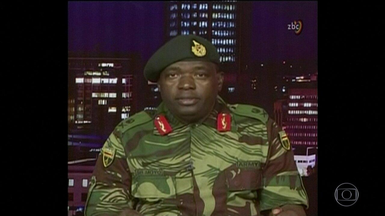 Militares assumem controle do Zimbábue e prendem Mugabe