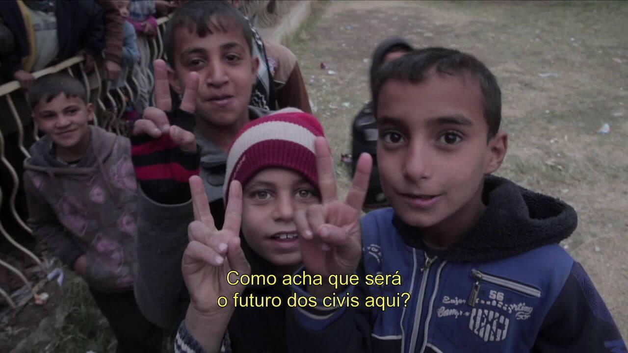 """Gabriel Chaim lança documentário """"Margens de uma guerra - heróis e vítimas em Mossul"""""""