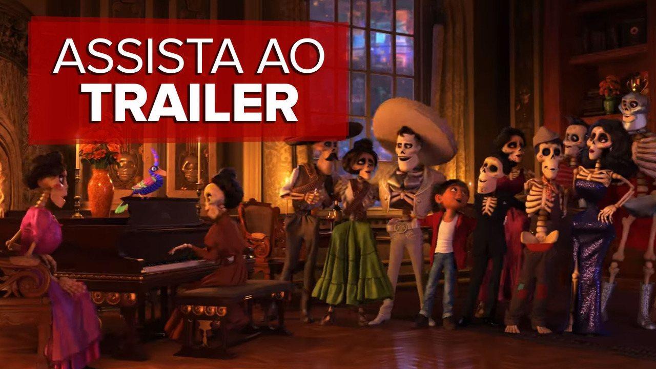 Assista ao trailer de 'Viva - A vida é uma festa', nova animação da Pixar