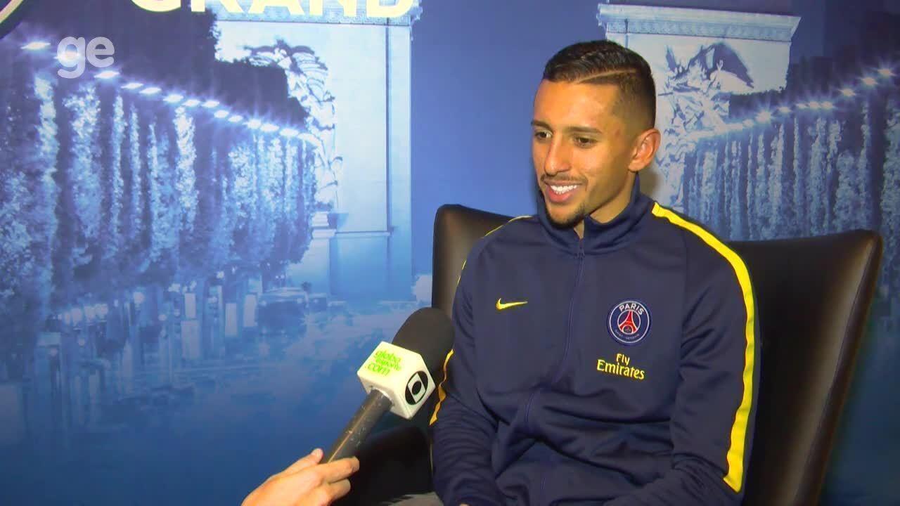 Vídeo: assista à entrevista exclusiva com Marquinhos