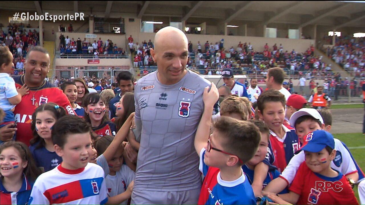 Com sentimento de dever cumprido, Marcos encerra carreira com a camisa do Paraná