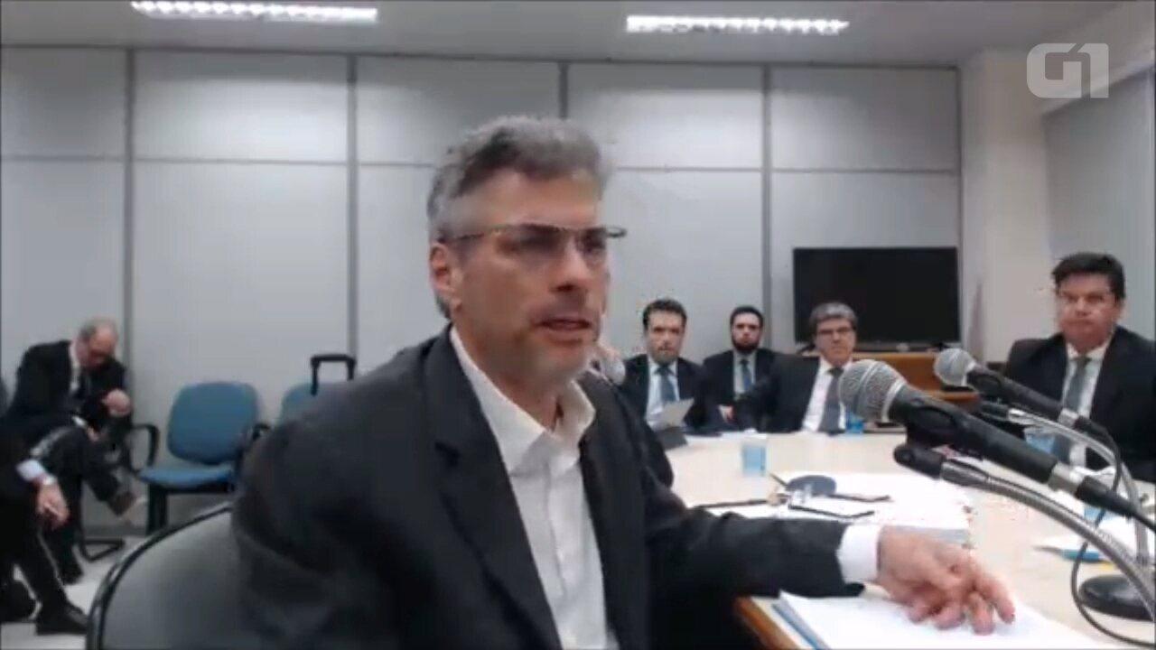 Publicitário diz que repassou dinheiro da Odebrecht para Aldemir Bendine; assista ao vídeo