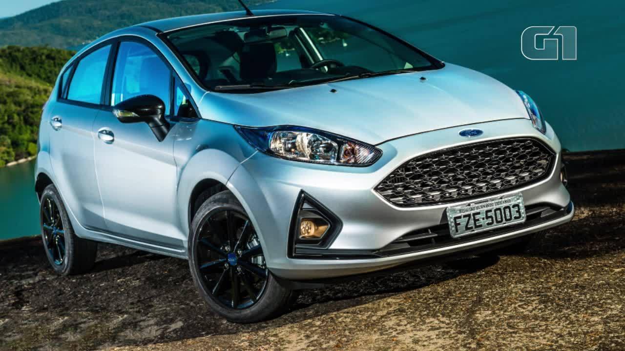 Ford Fiesta ganha 'tapa' no visual; veja o que mudou