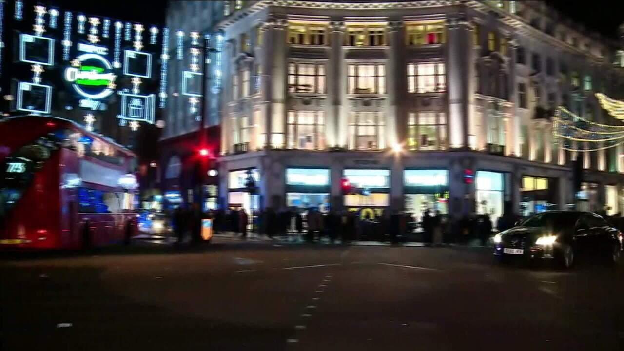 Polícia: Incidente na estação de metro de Oxford Circus, em Londres