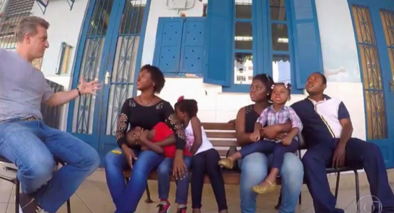 Caldeirão conta a história de família de refugiados congolesa que se reencontrou no Brasil