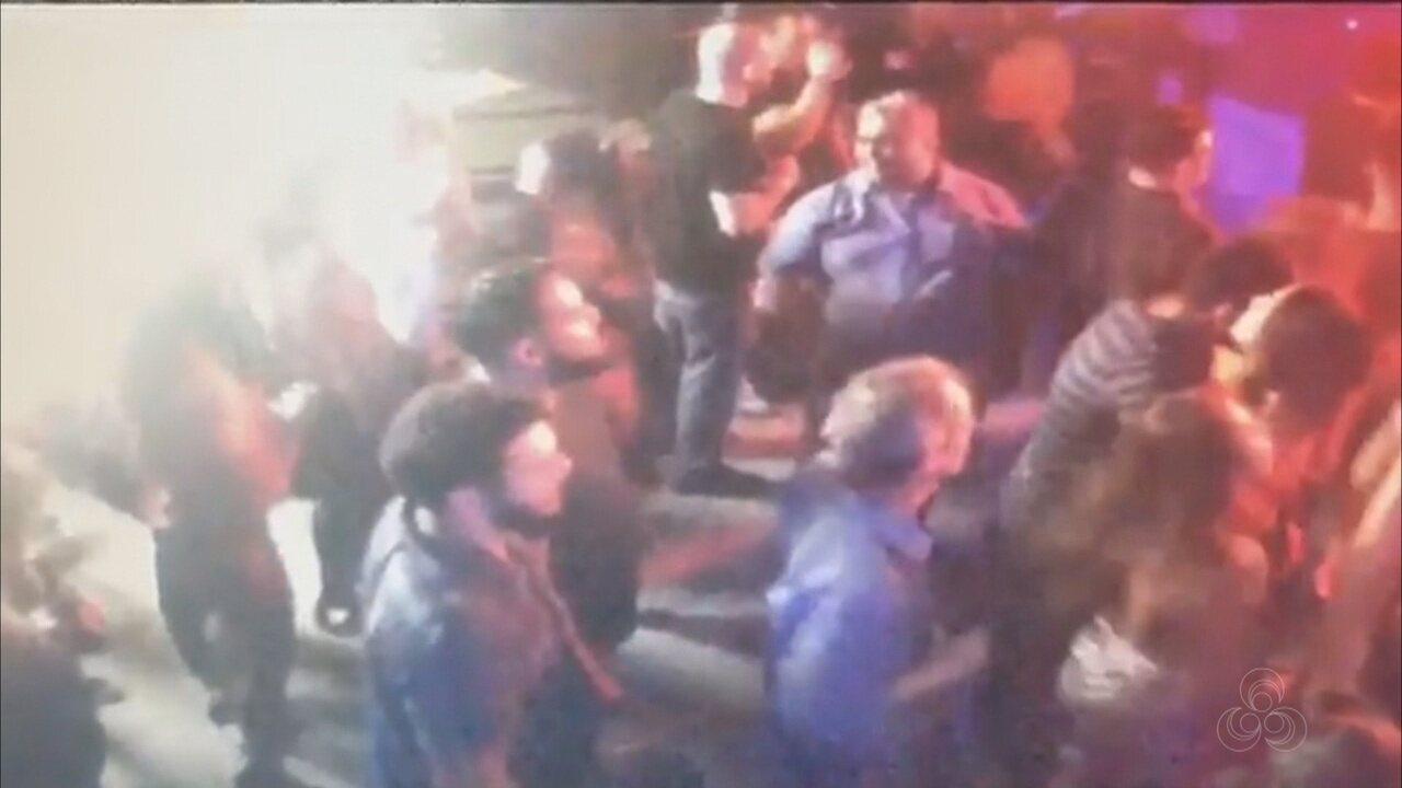 Vídeo mostra momento em que advogado é morto a tiros por delegado dentro do Porão