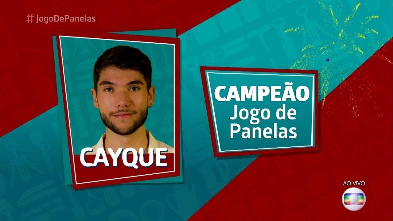 Cayque é o vencedor do 'Jogo de Panelas 23'