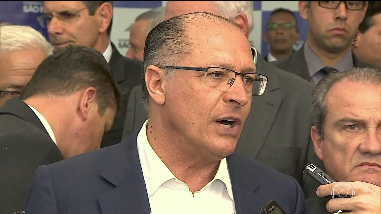 PSDB faz acordo para lançar Alckmin candidato a presidente do partido