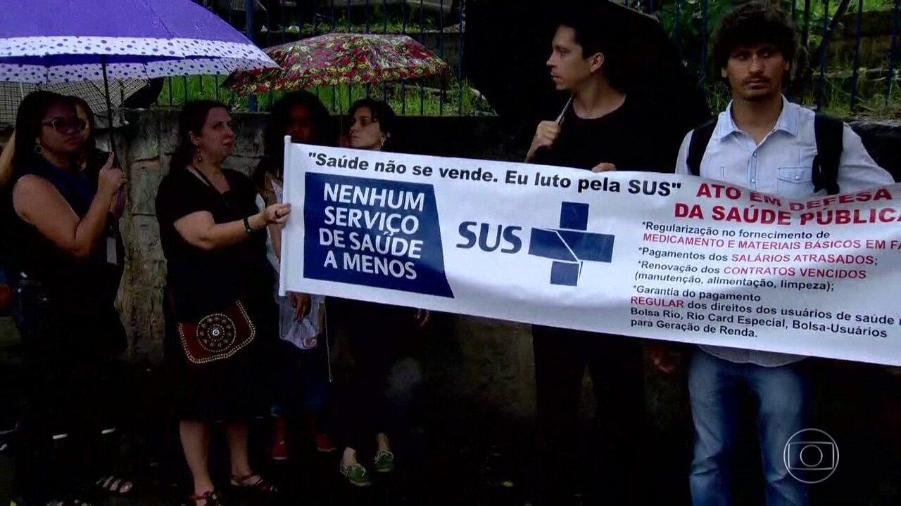 Pacientes do Hospital Municipal Rocha Farias, em Campo Grande, estão passando fome
