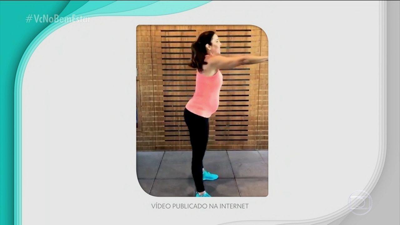 Pesquisa reforça os benefícios da atividade física na gestação