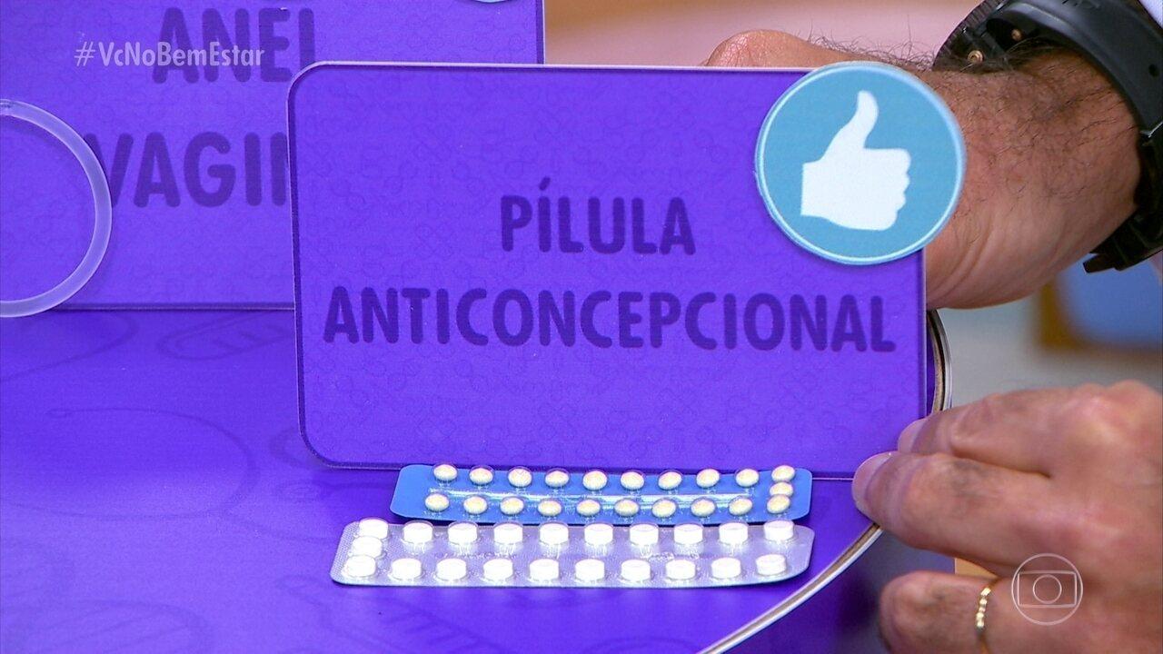 Método contraceptivo mais usado no mundo é a pílula anticoncepcional