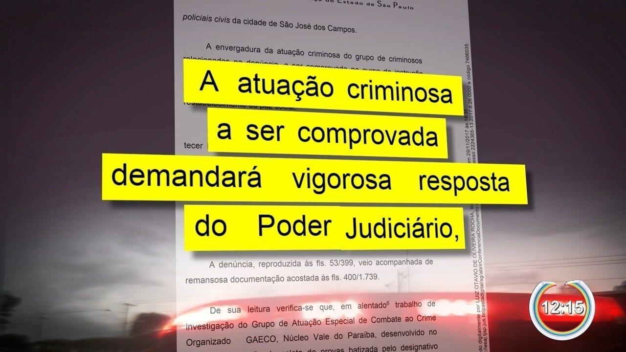 Justiça determina prisão preventiva de 30 policiais civis em São José