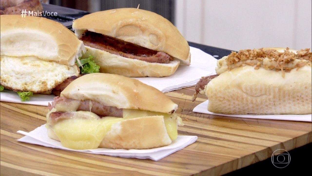 Pão com Linguiça - 'Mais Você' faz raio-x dessa tradicional iguaria