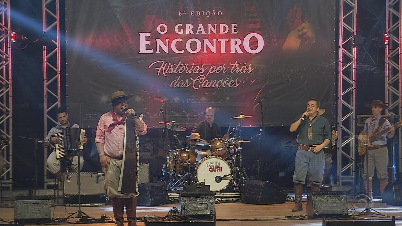 Wilson Paim e Mauro Moraes participam do 'Galpão Crioulo' (bloco 2)