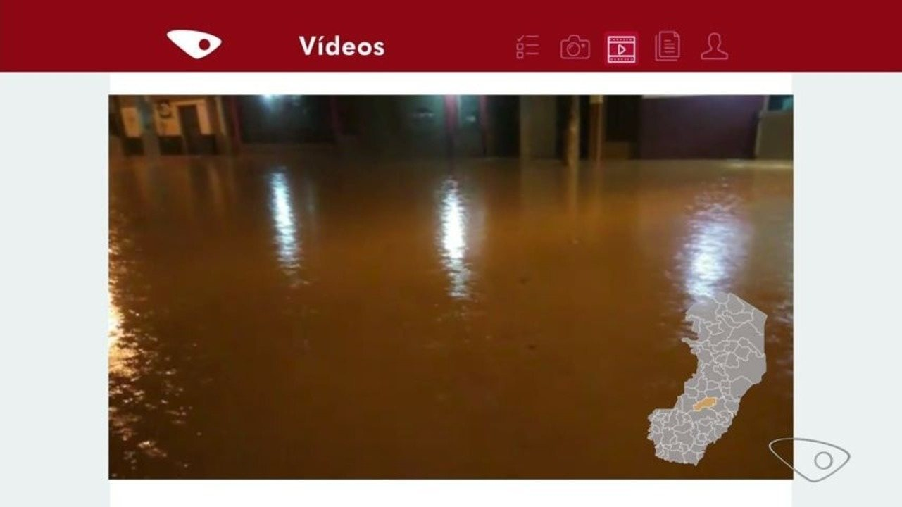 Santa Maria de Jetibá registra maior acumulado de chuva em 24 horas, no ES
