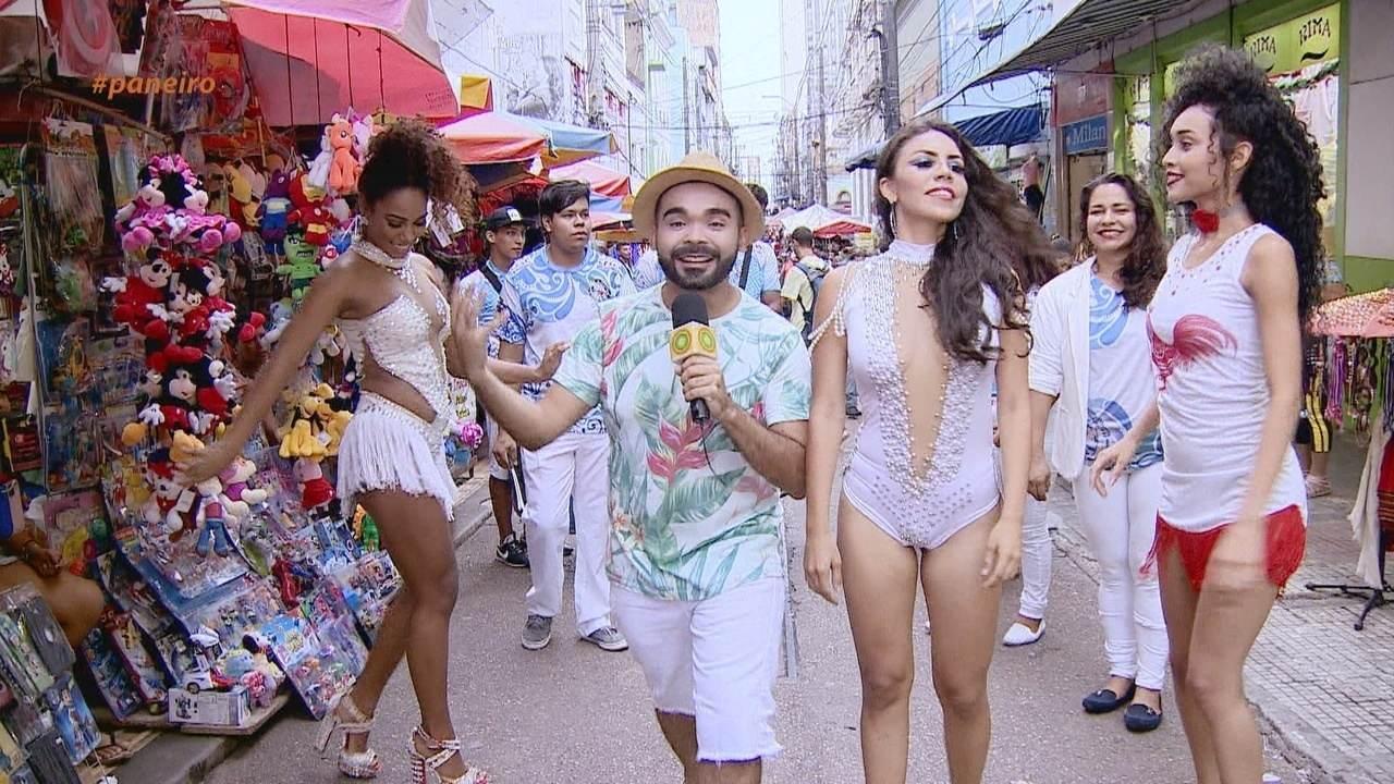 Oyama Filho vai às ruas de Manaus saber qual samba-enredo marcou as pessoas