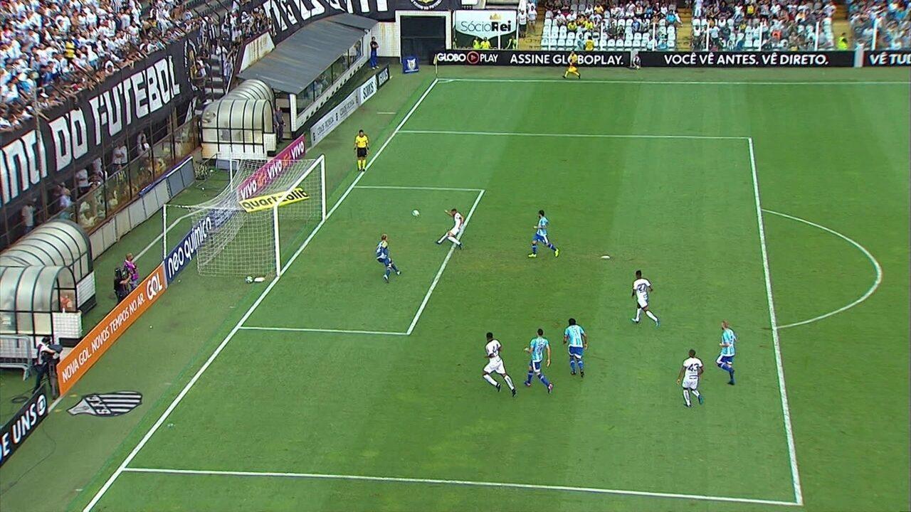 Impedido, Yuri Alberto perde gol incrível aos 28' do 2º Tempo