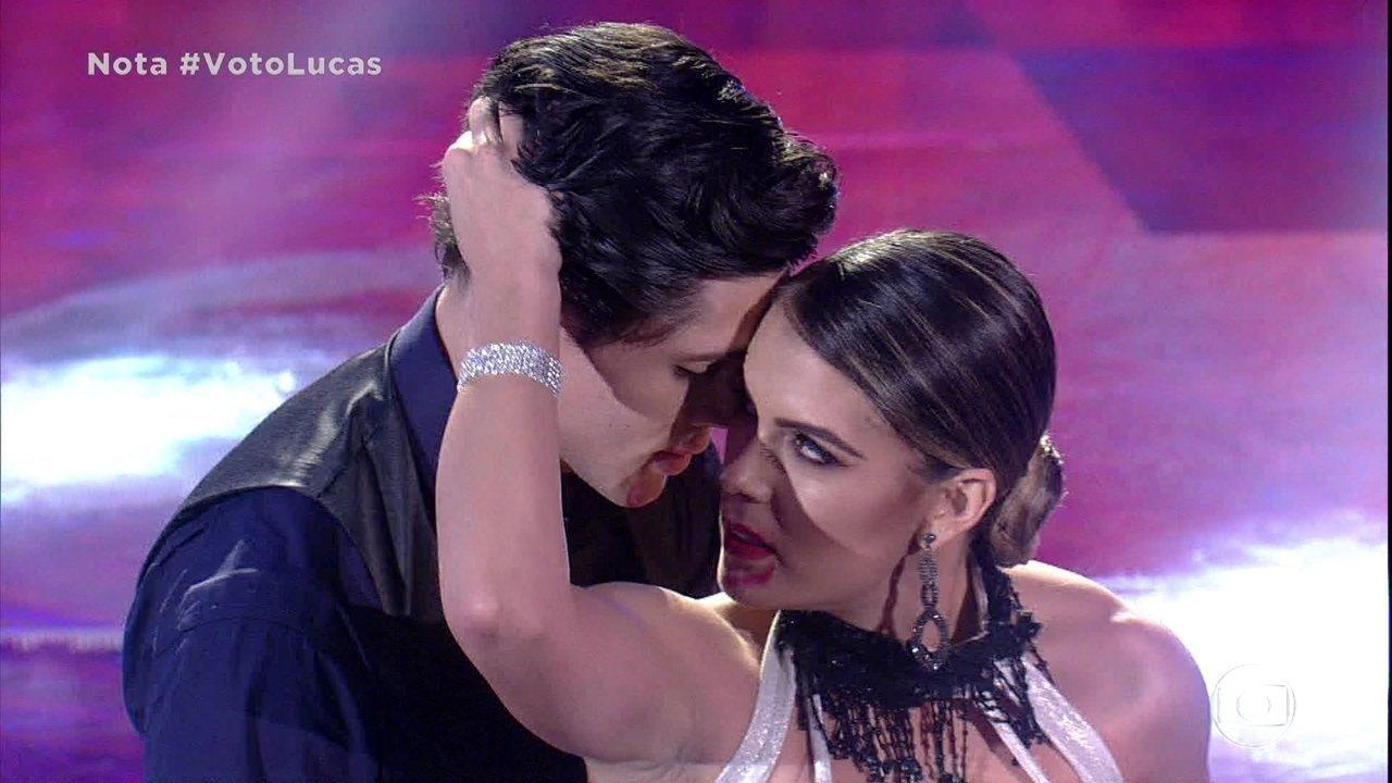 Lucas Veloso arrasa no tango