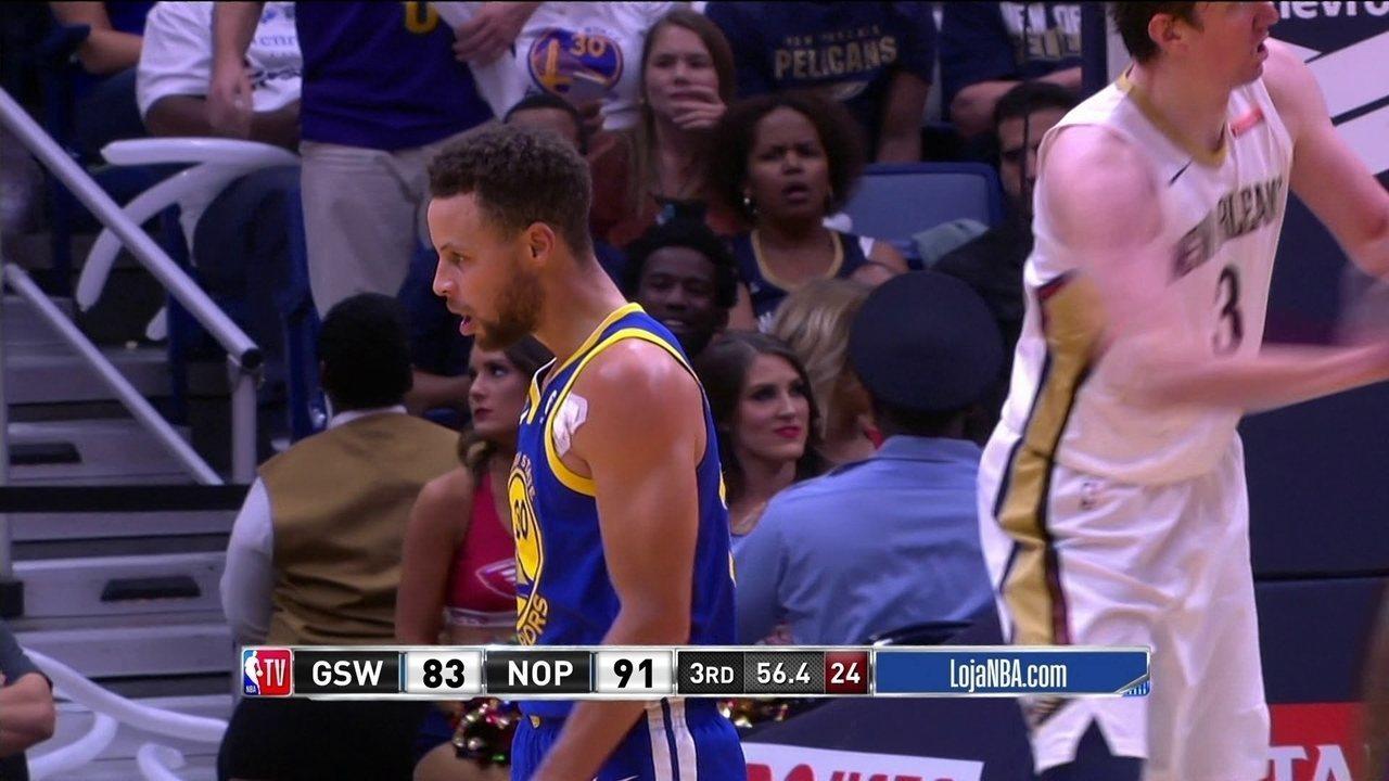 Melhores momentos: Golden State Warriors 125 x 115 New Orleans Pelicans pela NBA