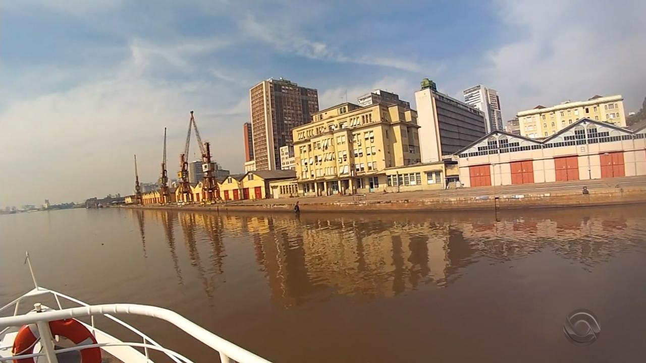 Obras de revitalização do Cais Mauá, em Porto Alegre, devem começar em três meses