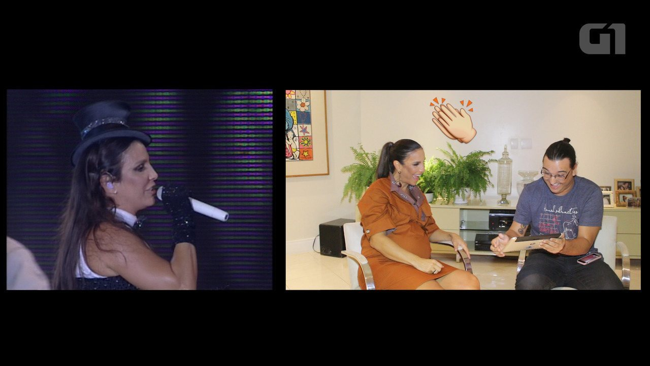Ivete Sangalo participa de quiz e relembra shows do Festival de Verão Salvador