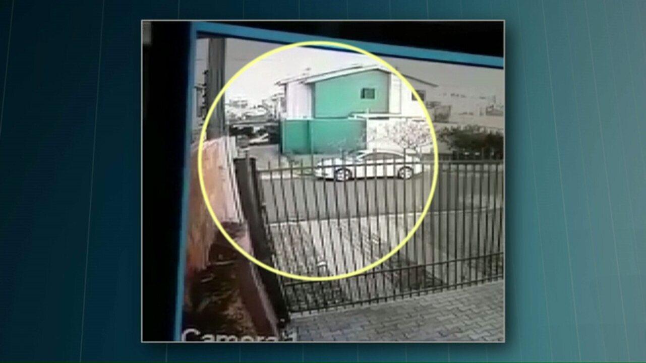 Vídeo mostra ação de suspeitos de matar psicóloga que trabalhava em penitenciária do Paraná