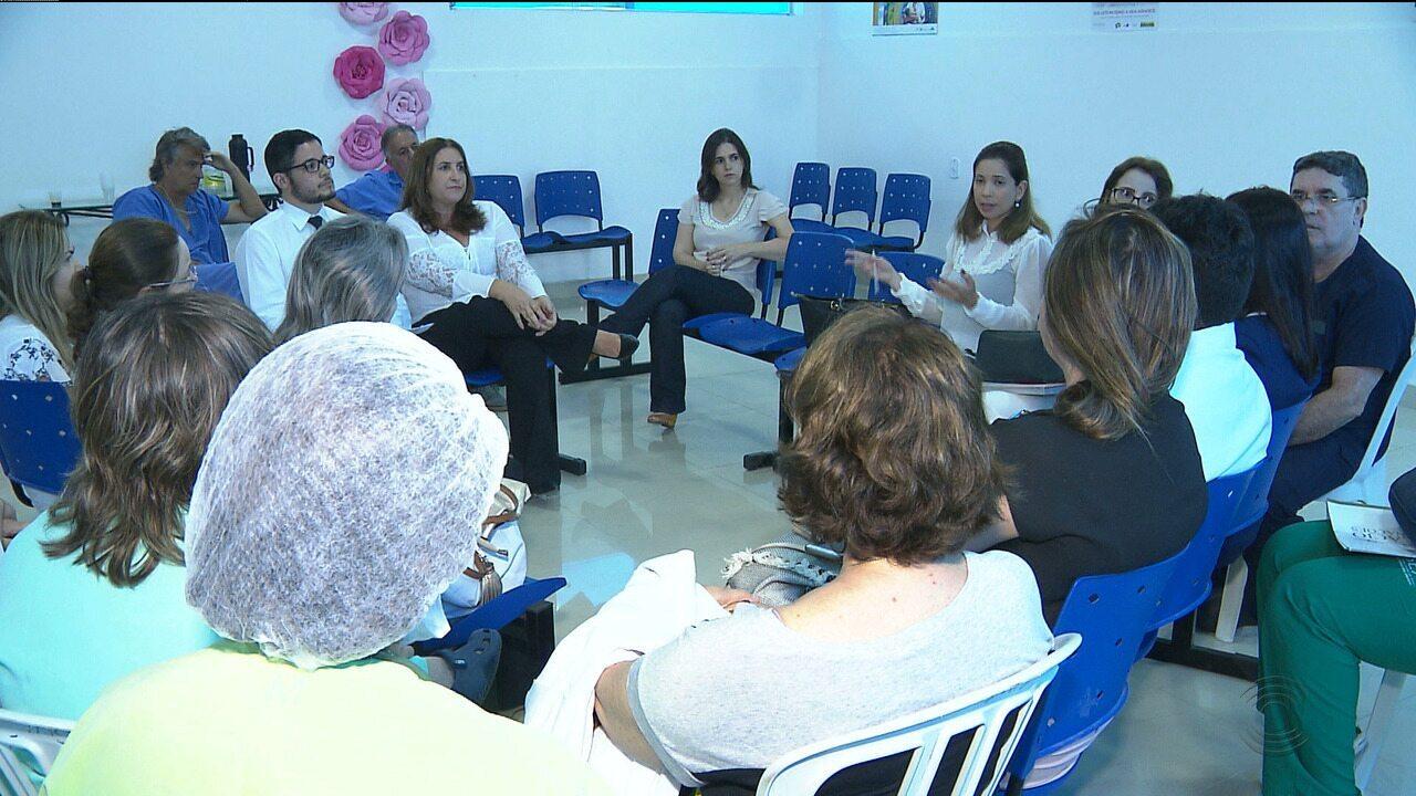Promotoria da Saúde faz visita no Isea para verificar irregularidades