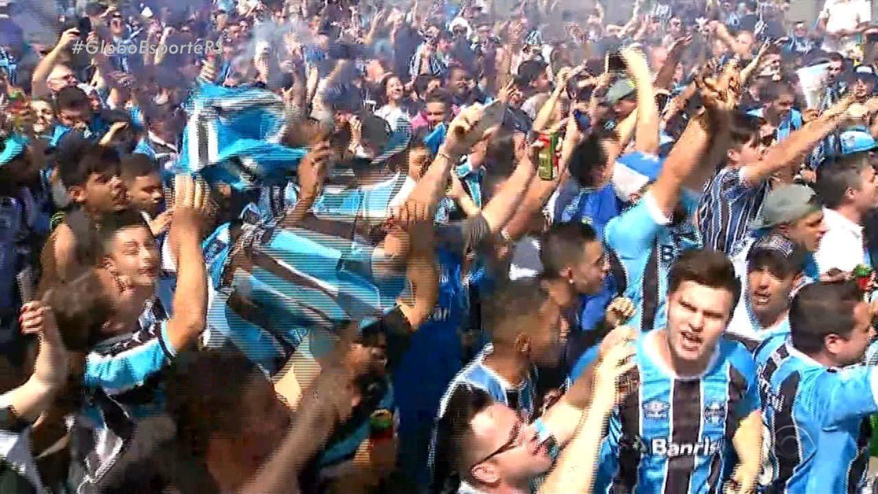 Grêmio embarca para a disputa do Mundial de Clubes nos Emirados Árabes