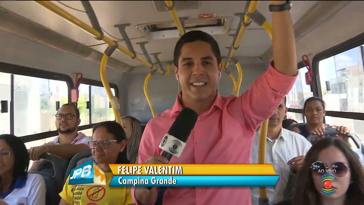 Circulação de dinheiro para compra de passagens de ônibus gera discussões em CG