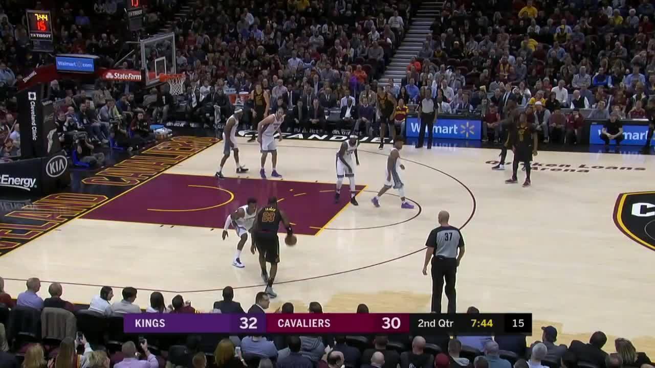 Melhores momentos de Cleveland Cavaliers 101 x 95 Sacramento Kings pela NBA