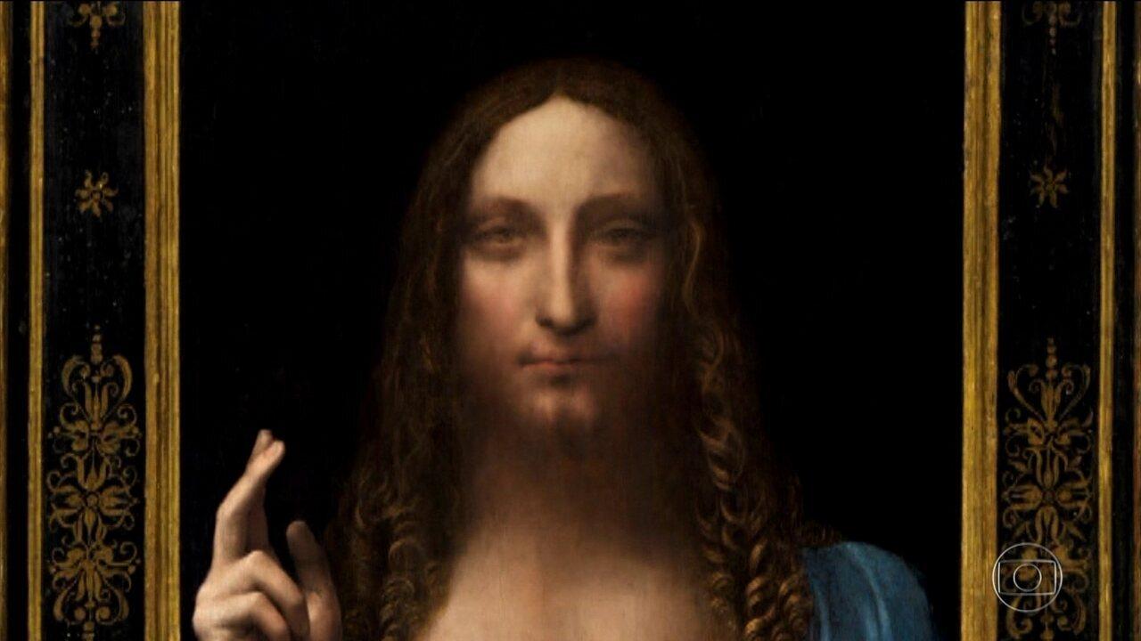 Quadro de Da Vinci, 'Salvator Mundi', será exposto no Louvre de Abu Dhabi