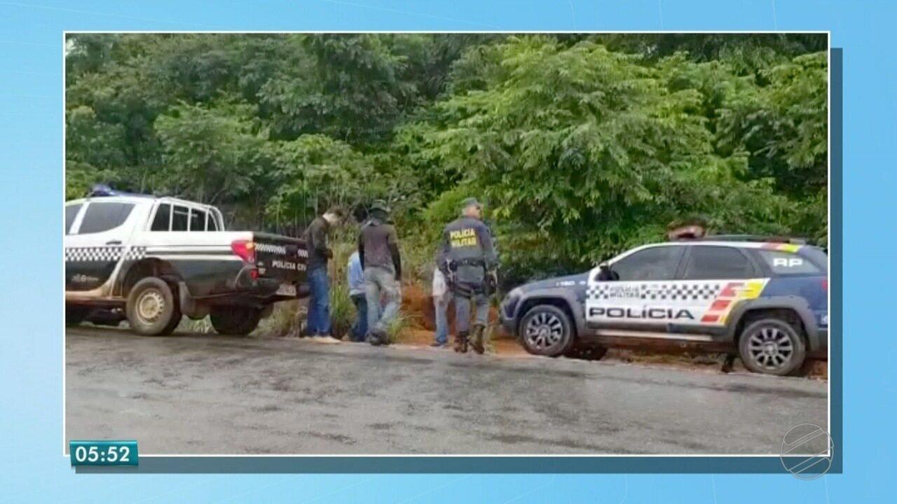 Funcionários que trabalham em rodovia de MT encontraram ossada humana