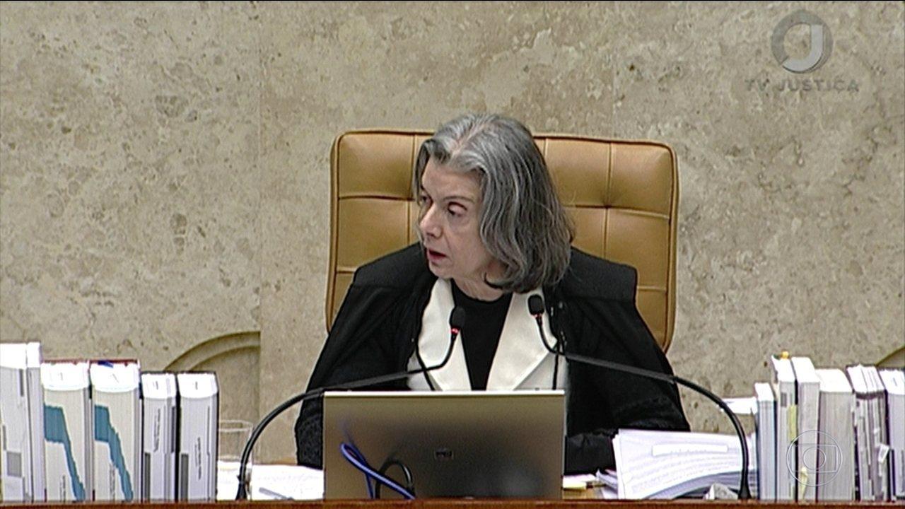 Veja como votou Cármen Lúcia no julgamento sobre se assembleias legislativas podem revogar prisão de deputados