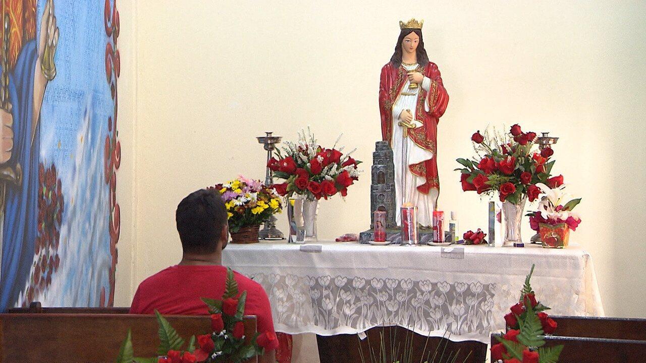 No Quartel do Corpo de Bombeiros, o 'Mosaico' confere os festejos à Santa Bárbara