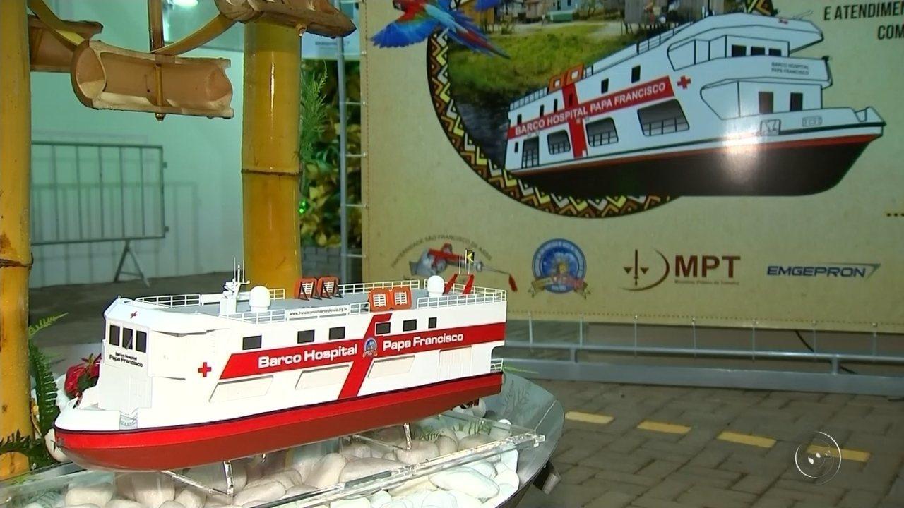 Lar São Francisco apresenta projeto de 'barco hospital' em Jaci