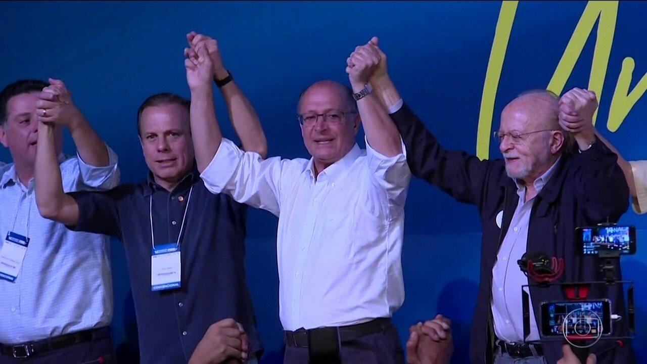 Geraldo Alckmin é eleito o novo presidente do PSDB