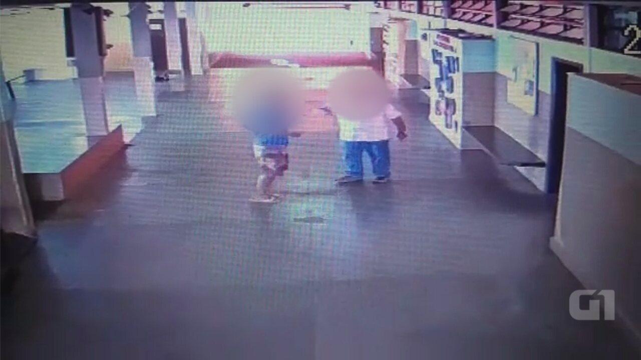 Aluno agride inspetor de escola com chutes em Pontalinda
