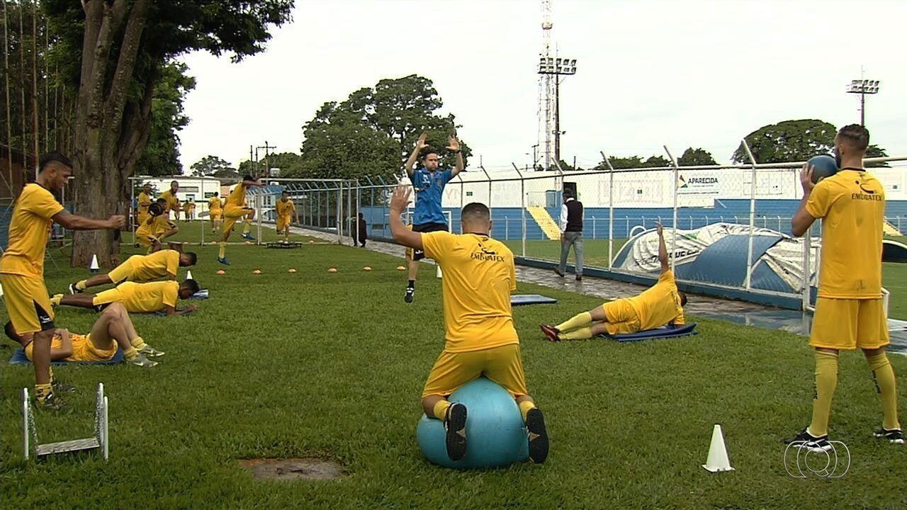 Aparecidense começa a preparação para o Campeonato Goiano