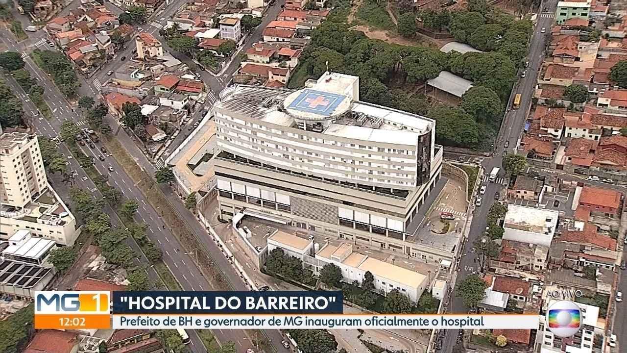 Hospital do Barreiro é totalmente inaugurado nesta quinta-feira em Belo Horizonte