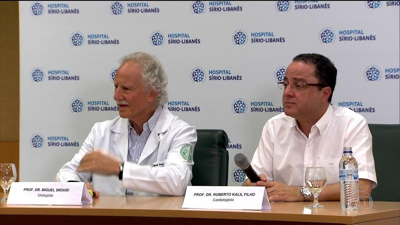 Temer recebe alta de hospital em São Paulo, após cirurgia urológica
