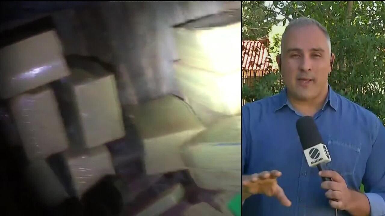 Polícia faz grande apreensão de drogas em Itaquiraí, MS