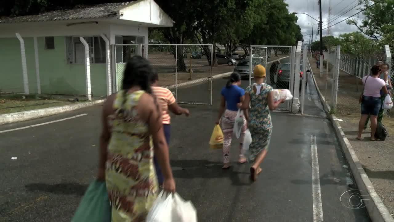 Com apoio da PM, visitas a presos são liberadas em presídios de Alagoas
